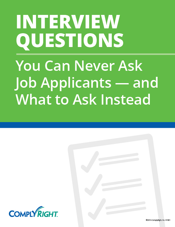 Interview Questions You Can Never Ask Applicants and What to Ask Instead