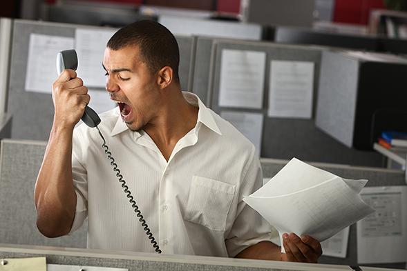 Firing employees for profanity toward a coworker or customer