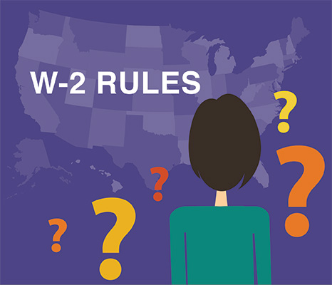 State W-2 Filing Responsibilities