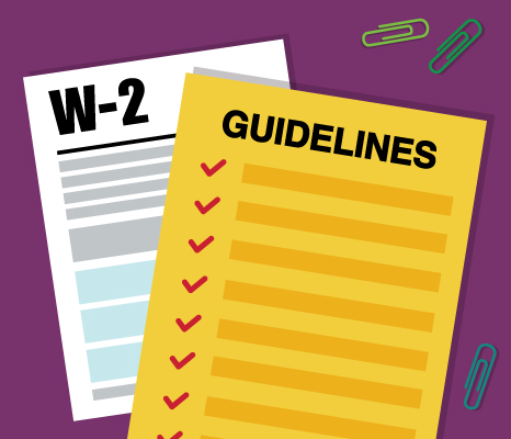W-2 Form & Guidelines