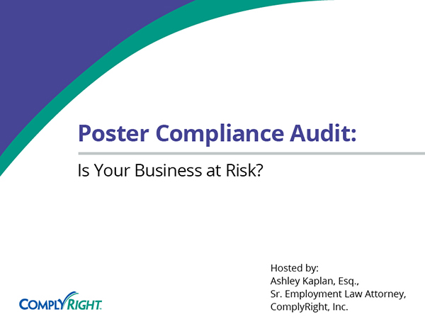 Poster Compliance Audit: Is Your Business at Risk?