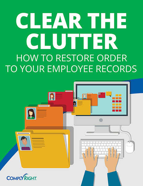 Clear the Clutter: How to Restore Order to Your Employee Records