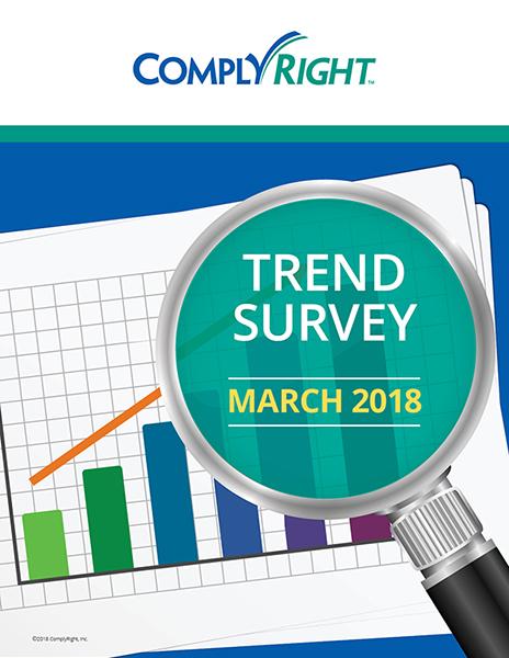 Trend Survey – March 2018