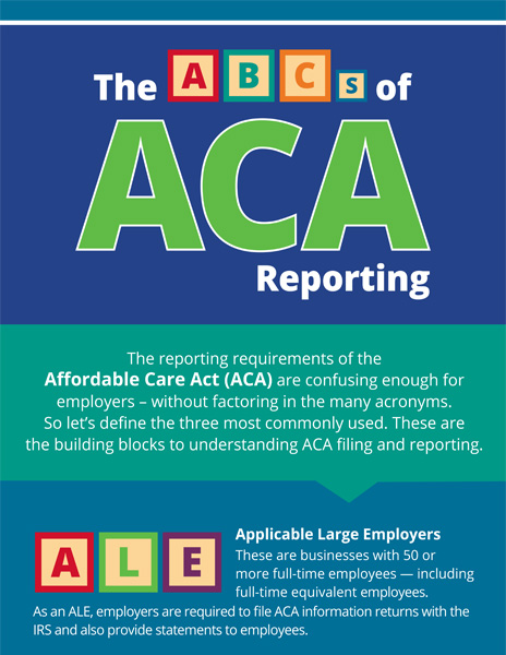 The ABC's of ACA Reporting
