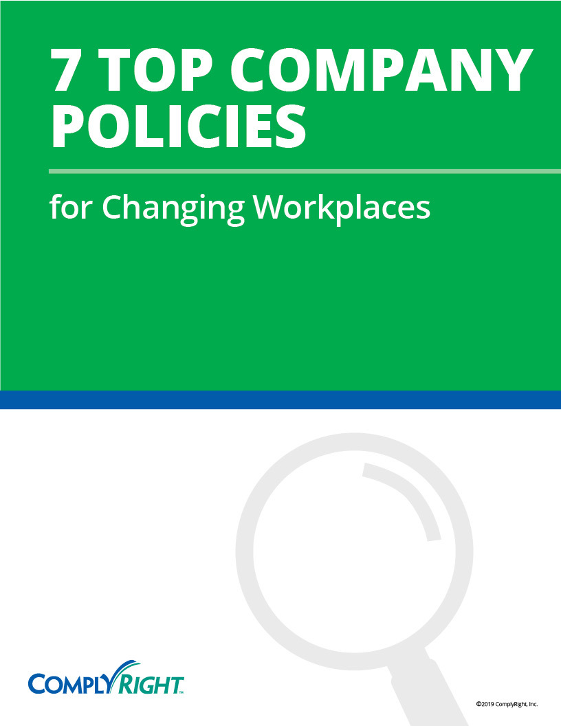 7 Top Company Policies for Changing Workplaces