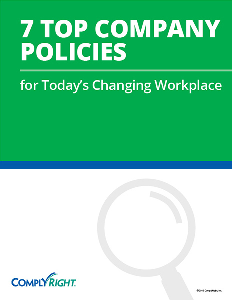 7 Top Company Policies for Today's Changing Workplace