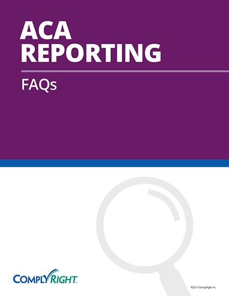 ACA Reporting: FAQs