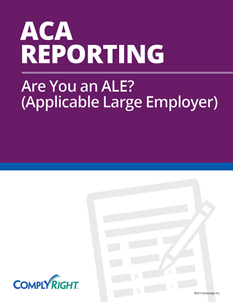 ACA Reporting: Are You an ALE?