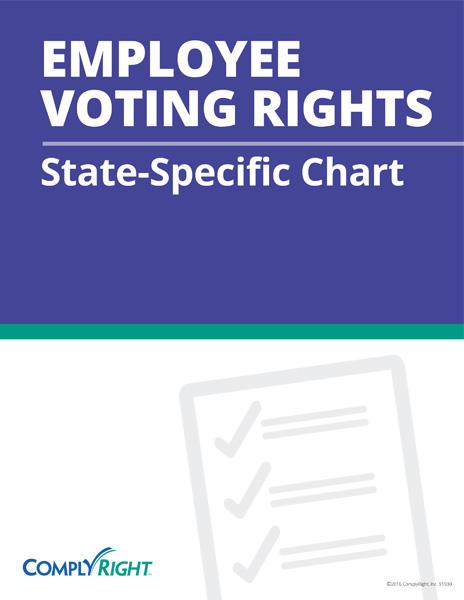 Employee Voting Rights: State-Specific Chart