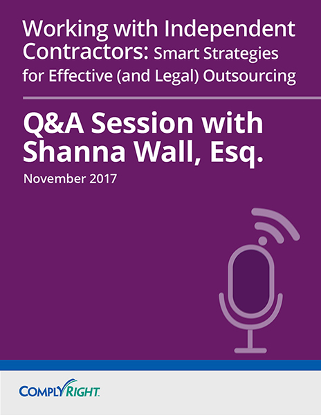 Working with Independent Contractors: Smart Strategies for Effective (and Legal) Outsourcing