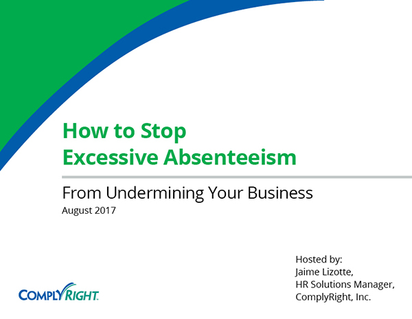 How to Stop Excessive Absenteeism from Undermining Your Business