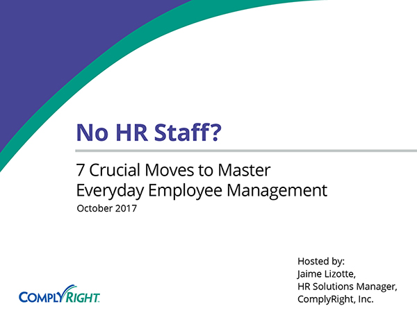 No HR Staff? 7 Crucial Moves to Master Everyday Employee Management