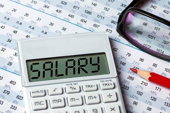 Convert the employee's pay from salary to a reduced hourly rate.