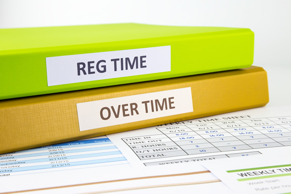 Pay overtime, as needed, along with the employee's current salary.