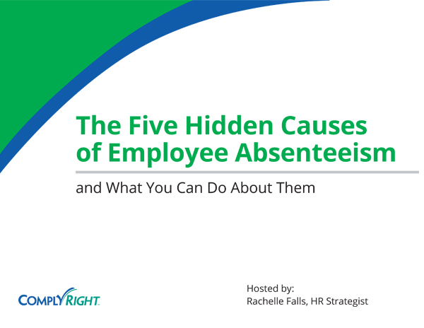 The Five Hidden Causes of Employee Absenteeism – and What You Can Do About Them