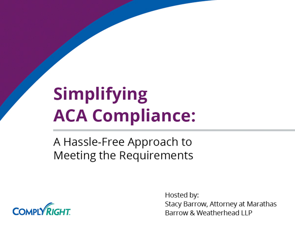 Simplifying ACA Compliance: A Hassle-Free Approach to Meeting the Requirements